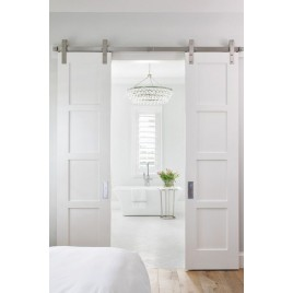 Wood Designer Series Sliding Double Barn Doors