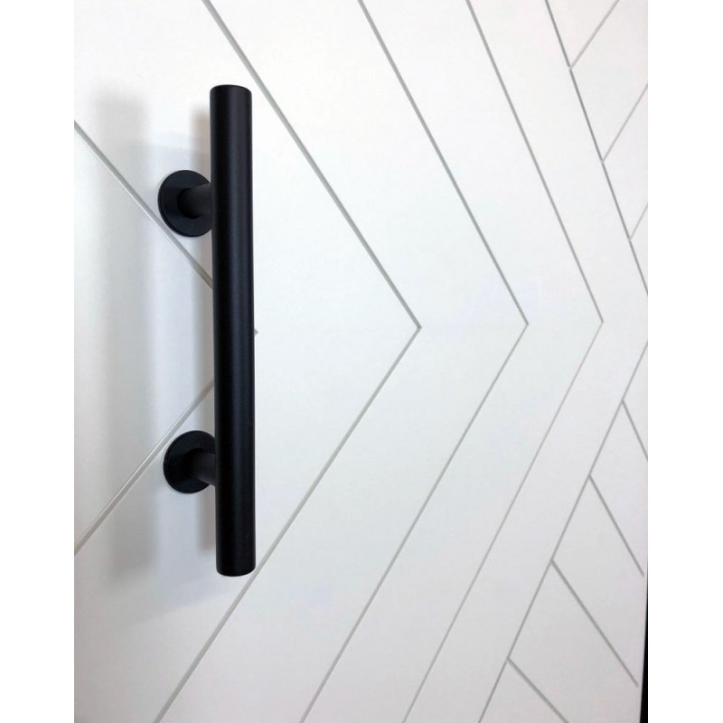 Chevron Arrow Barn Door (Paint Grade Wood Designer Series Sliding Barn Doors) by www.doubledw.com