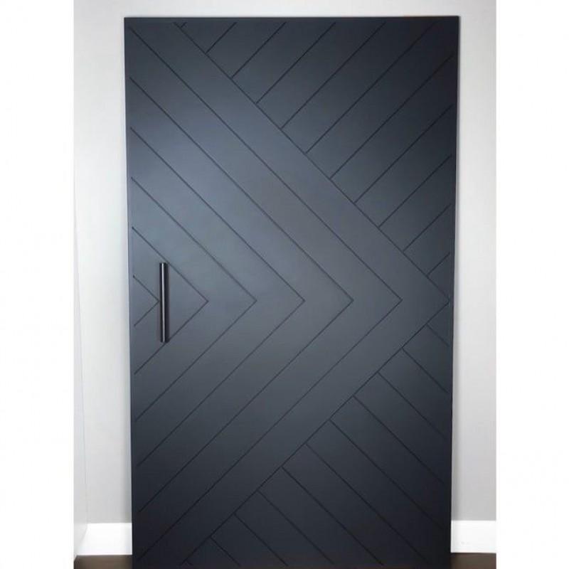 Chevron Arrow Barn Door (Paint Grade Wood Designer Series Sliding Barn Doors) by www.doubledw.com