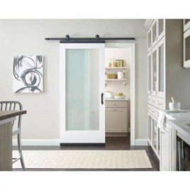 Glass Designer Series Sliding Barn Doors