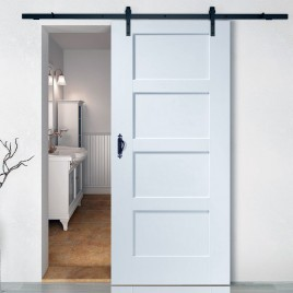Paint Grade Wood Designer Series Sliding Barn Doors