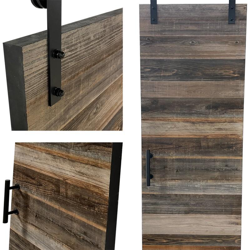Reclaimed Wood Barn Door (Reclaimed Wood Barn Doors) by www.doubledw.com