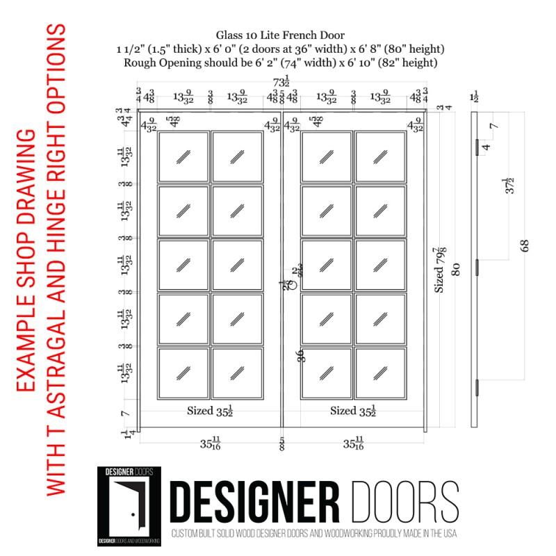 10 Lite Glass French Door (French Doors) by www.doubledw.com