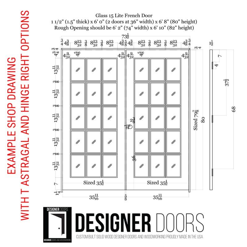 15 Lite Glass French Door (French Doors) by www.doubledw.com
