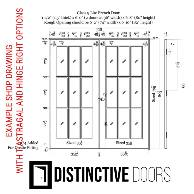 9 Lite Glass French Door (French Doors) by www.doubledw.com