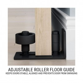 Adjustable Roller Floor Guide
