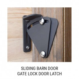 Barn Door Gate Latch