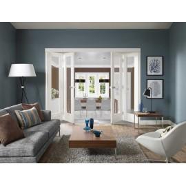1 Lite Glass Bifold Door