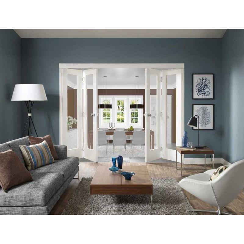 1 Lite Glass Bifold Door (Bifold Doors) by www.doubledw.com