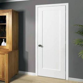 Wood 1 Panel Interior Paint Grade Door