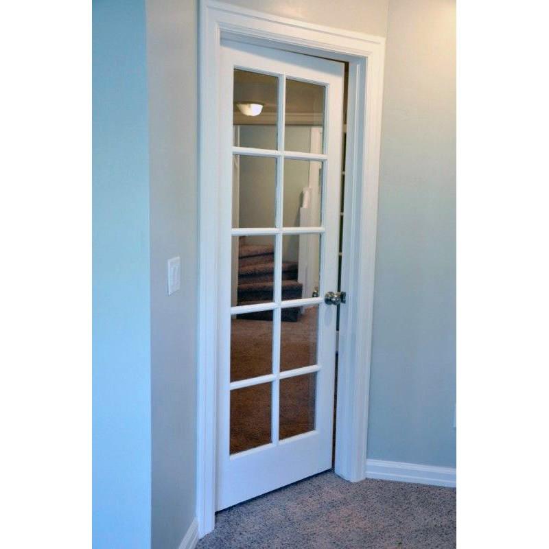 Glass 10 Panel Interior Paint Grade Door (Glass Designer Series Interior Doors) by www.doubledw.com