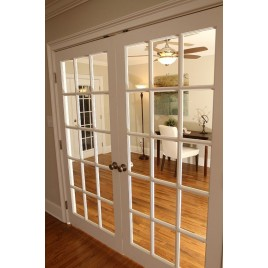 15 Lite Glass French Door