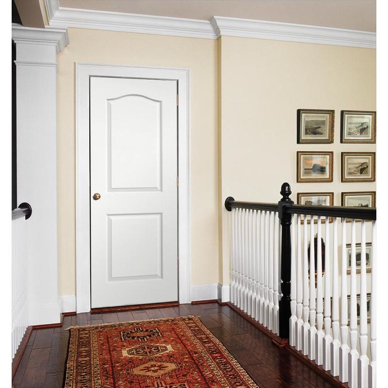 Camden 2 Panel Interior Paint Grade Door (Wood Designer Series Interior Doors) by www.doubledw.com