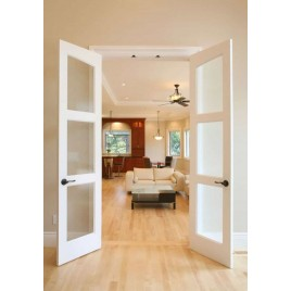 3 Lite Glass French Door