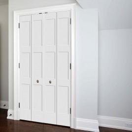 Wood 3 Panel Bifold Door