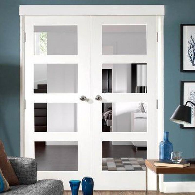 4 Lite Glass French Door (French Doors) by www.doubledw.com