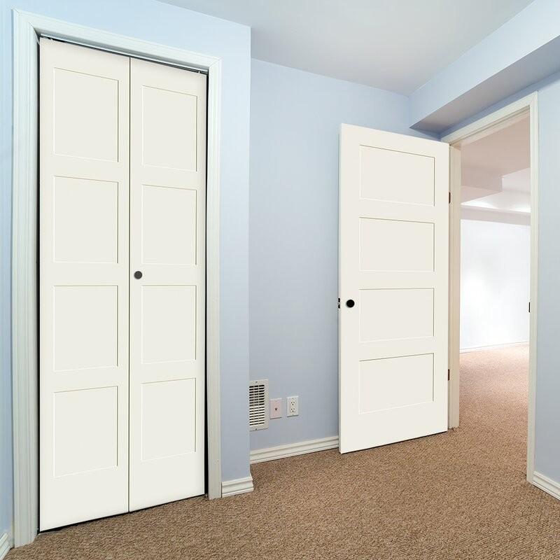 Wood 4 Panel Bifold Door (Bifold Doors) by www.doubledw.com