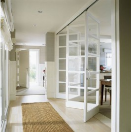 5 Lite Glass Bifold Door