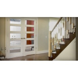 5 Lite Glass French Door