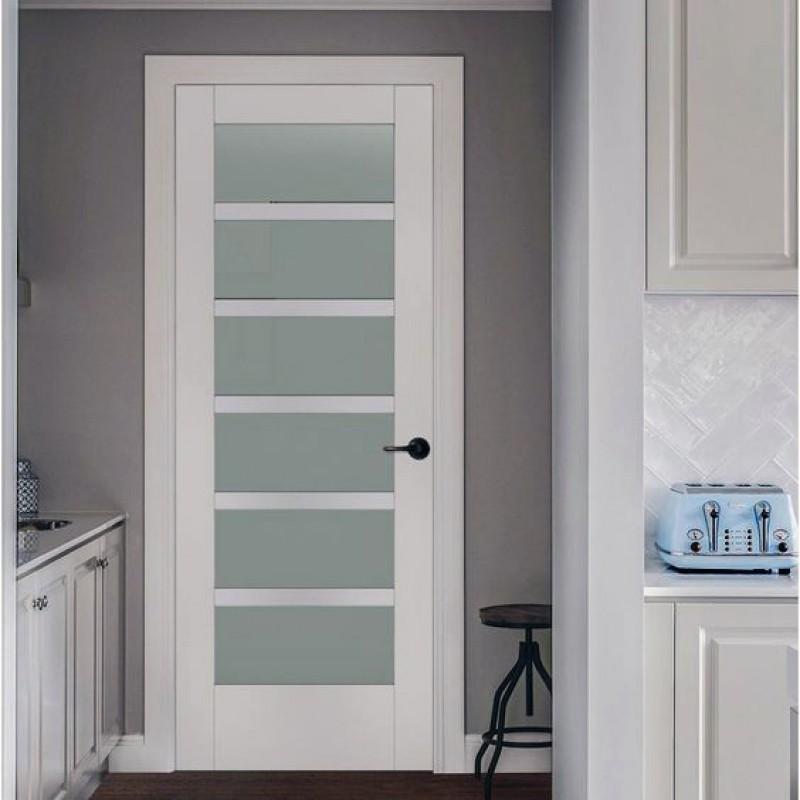 Glass 6 Panel Interior Door (Glass Designer Series Interior Doors) by www.doubledw.com
