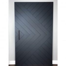 Chevron Arrow Interior Paint Grade Door