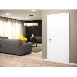 Flush Solid Wood Interior Paint Grade Door