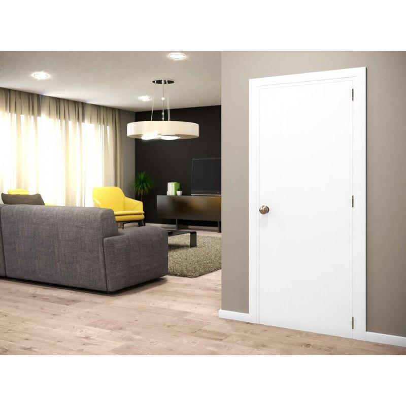 Flush Solid Wood Interior Paint Grade Door (Wood Designer Series Interior Doors) by www.doubledw.com